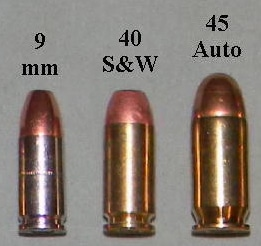 Pistol Calibers - Comparison of the Most Common Options