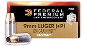 Federal 124 gr HST JHP (small)