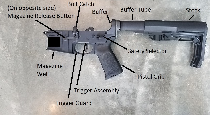AR-15 Lower Parts Diagram