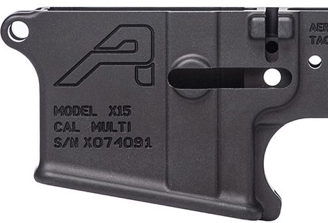 Anderson Lower Receiver Labeled Cal Multi