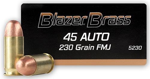 Blazer Brass 45 ACP Ammo