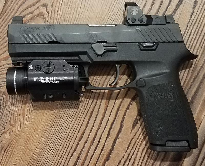 SIG Sauer P320 RX With Streamlight TLR-2 HL