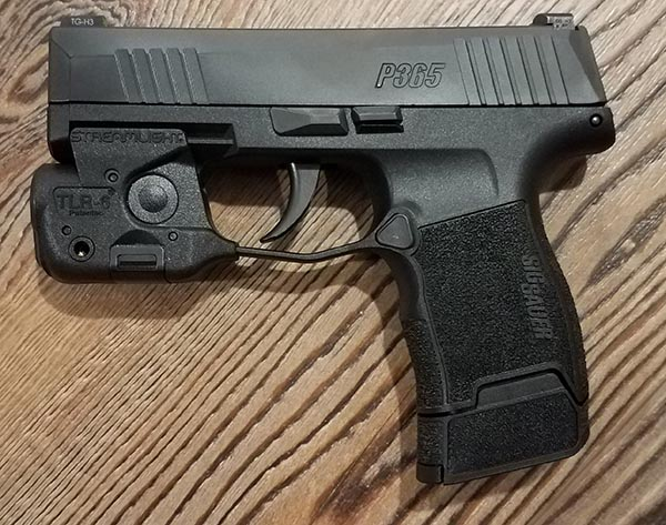 SIG Sauer P365 With Streamlight TLR-6 Pistol Light-Laser