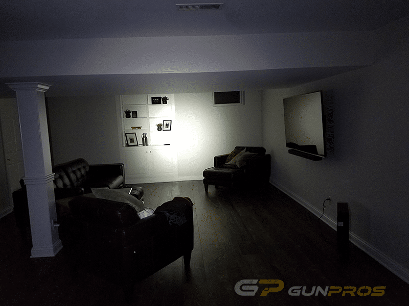 Streamlight TLR-2 HL Lighting Up a Large Room