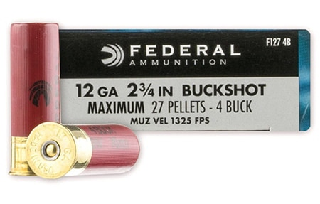 Federal-Power-Shok-12-Gauge-4-Buckshot Preview