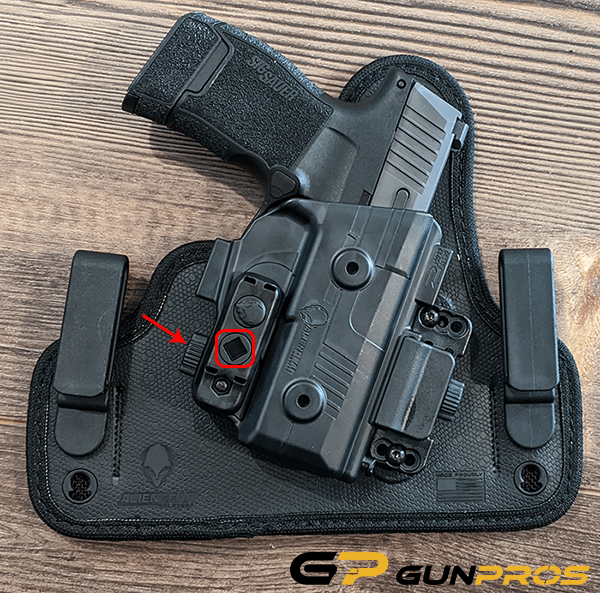 Alien Gear IWB ShapeShift 4.0 Holster Rentention Adjustments